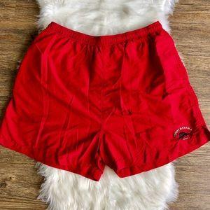 Tommy Bahama Red Swim Trunks in size XXL
